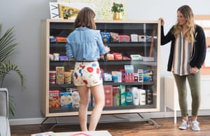 A publicity shot for Bodega, a Silicon Valley startup that sparked Twitter uproar with its stated desire to make real bodegas obsolete.