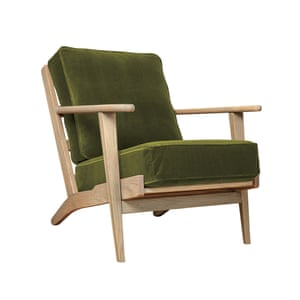 Karla armchair in fern, £629, swooneditions.com