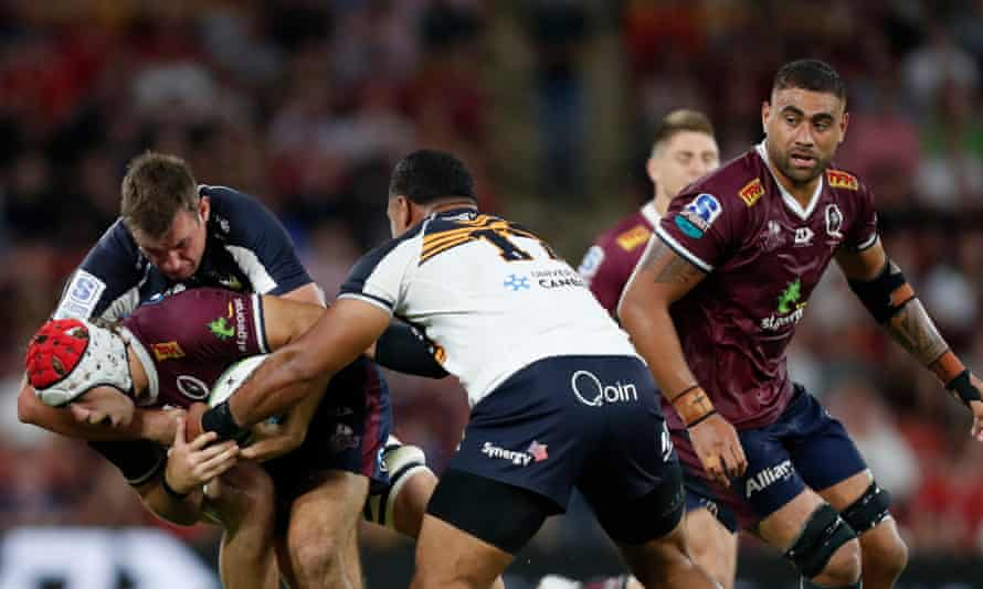 Queensland Reds v ACT Brumbies, Super Rugby AU
