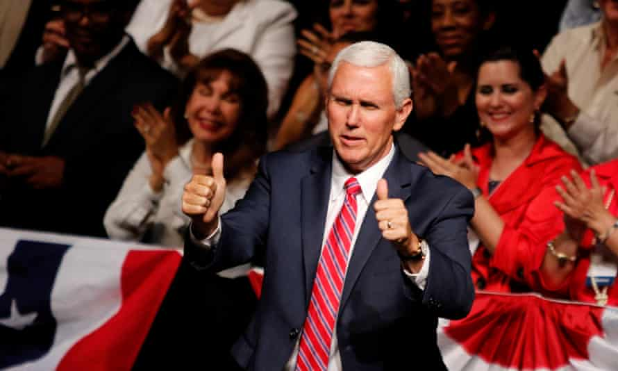 The hacking of Pence's private emails led some to raise questions of hypocrisy after he frequently attacked Clinton on the campaign trail.