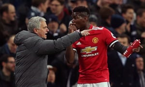 José Mourinho said of Paul Pogba: 'It is my problem that he is not playing well at the moment but he will play in the FA Cup against Huddersfield.'