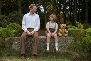 'The images have a warm familiarity': Domhnall Gleeson and Will Tilston in Goodbye Christopher Robin.