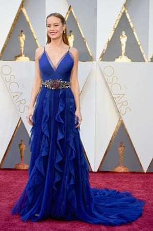 So Brie Larson won the battle for Gucci! To recap for non fashion people who've inexplicably found themselves on here. Gucci is so hot right now. It's the brand that the entire fashion industry is obsessed with at the moment. So Brie wearing Gucci is a massive statement: she's declared herself to be, you know, properly Fashion, and possibly interested in some sort of fashion contract. Not that you would know it from the Year 11 hair, mind.