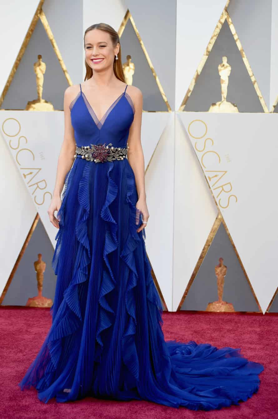 Brie Larson in Gucci at this year's Oscar's.