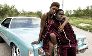 'Outstanding': Jodie Turner-Smith and Daniel Kaluuya in Queen & Slim.