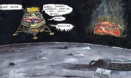 Martin Rowson on Boris Johnson's bid for the Tory leadership – cartoon