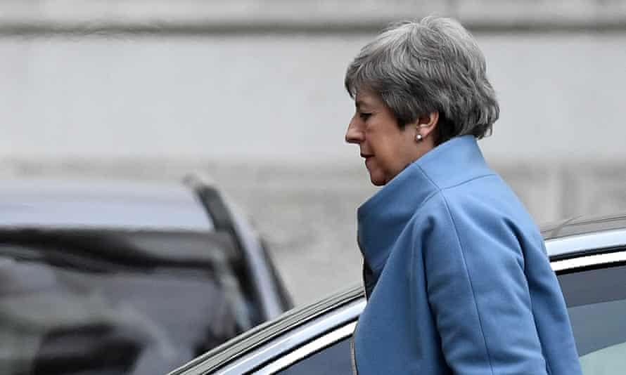 Theresa May returns To Downing Street