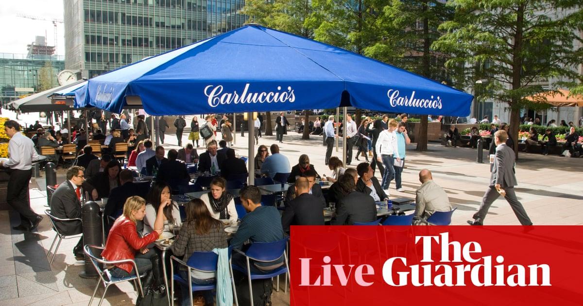 BrightHouse y Carluccio caen en la administración cuando el coronavirus golpea la economía - business live | Negocio 14