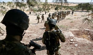 Syrian rebel fighter prepare on Monday for an expected attack by the Assad regime on Idlib province. Donald Trump has warned any assault would be 'a grave humanitarian mistake'.