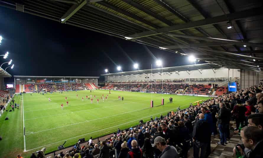 The Leigh Sports Village will be hosting Super League rugby again next season.