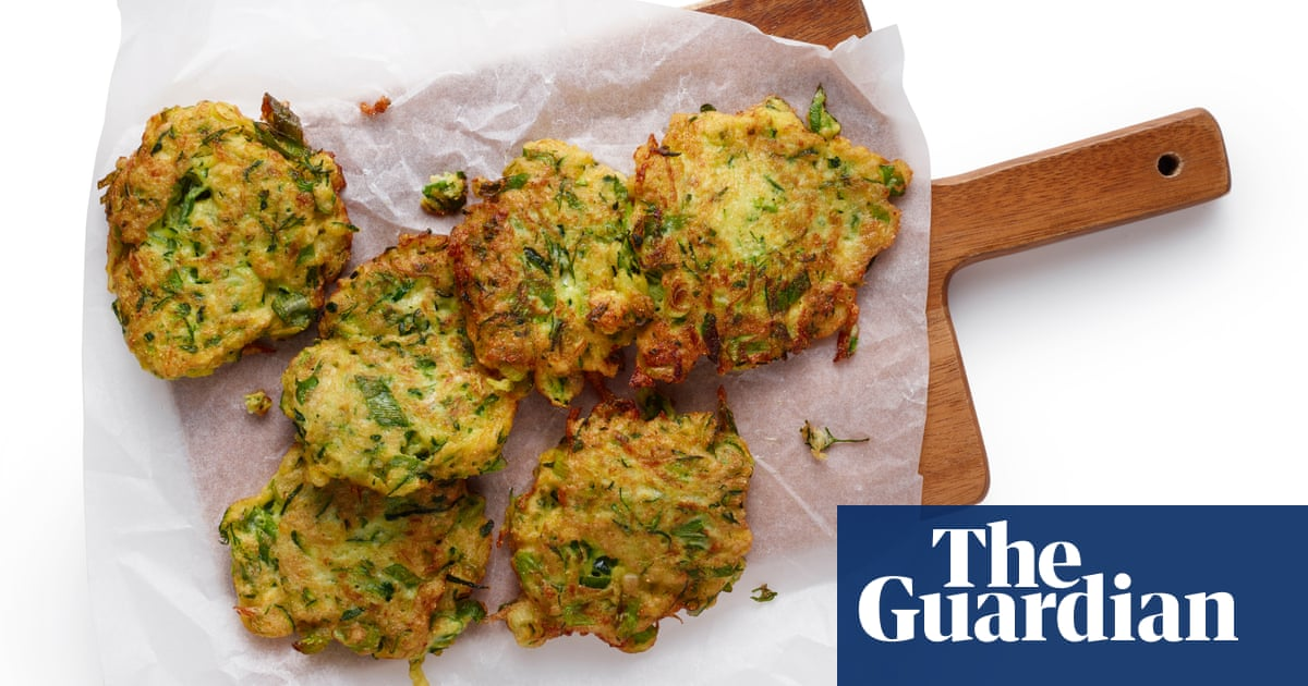 How to make courgette (and other summer veg) fritters – recipe