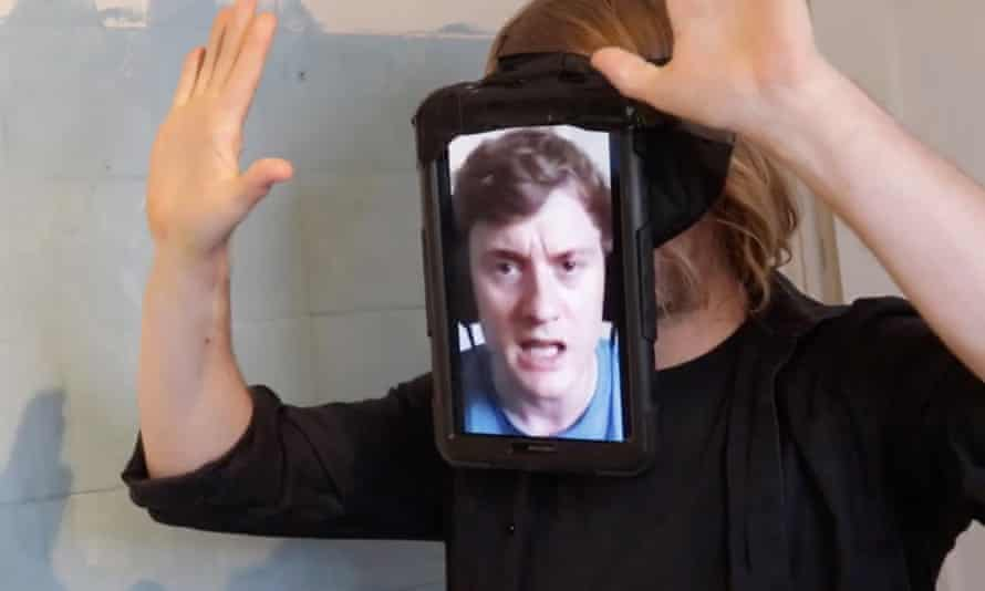 'Strapping an iPad with James Acaster's face on it to Barry's head? No longer out of the question'