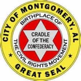The Montgomery Alabama City Seal.