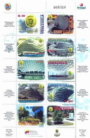 Stamps commemorating the 38th anniversary of DISIP (National Directorate of Intelligence and Prevention Services) in 2007.
