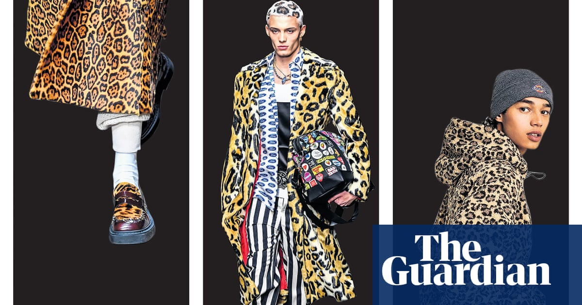71fbddc7351 Spot on: how to wear leopard print to work if you're a man | Fashion ...