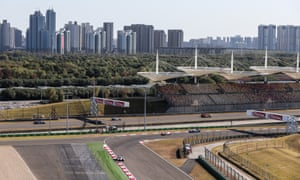 The Shanghai International Circuit is the venue for the Chinese Grand Prix.