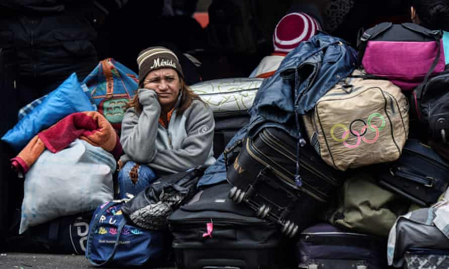 About 1 million Venezuelans have fled to Colombia.