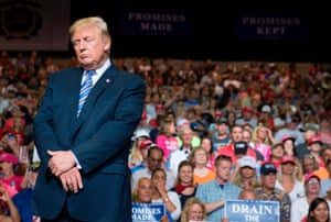 Why trump still needs the love of the crowd this is like for Big blue motors barboursville wv