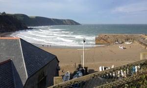 Coast Path Cafe, Gorran Haven, Cornwall.