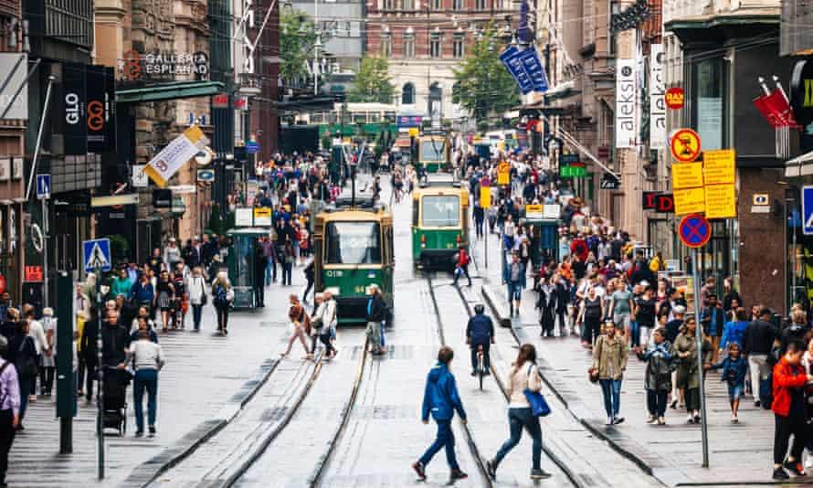 A pre-lockdown Helsinki