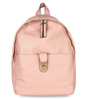 rucksack £19.99, New Look