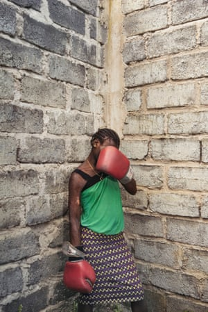Alessandro Grassani: Boxing Against Violence: The Female Boxers Of Goma