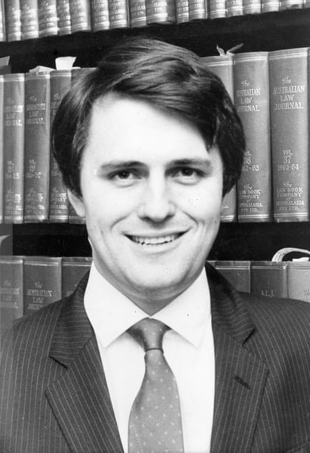Malcolm Turnbull as a 26-year-old Rhodes scholar.