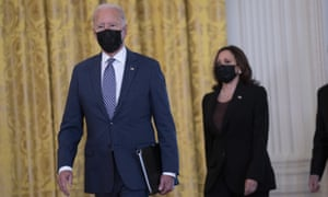 Joe Biden and Kamala Harris strongly support abortion rights. The US president and vice president have called on Congress to codify the rights afforded by Roe v Wade, to protect them from action in the courts.