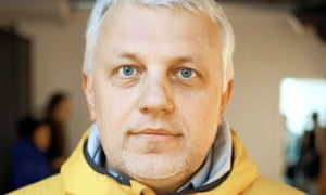 Journalist Pavel Sheremet, who has died in a car bomb attack in central Kiev.