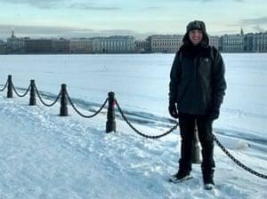 Pandolfino studied in St Petersburg for five months