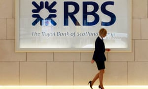 RBS foyer in London.