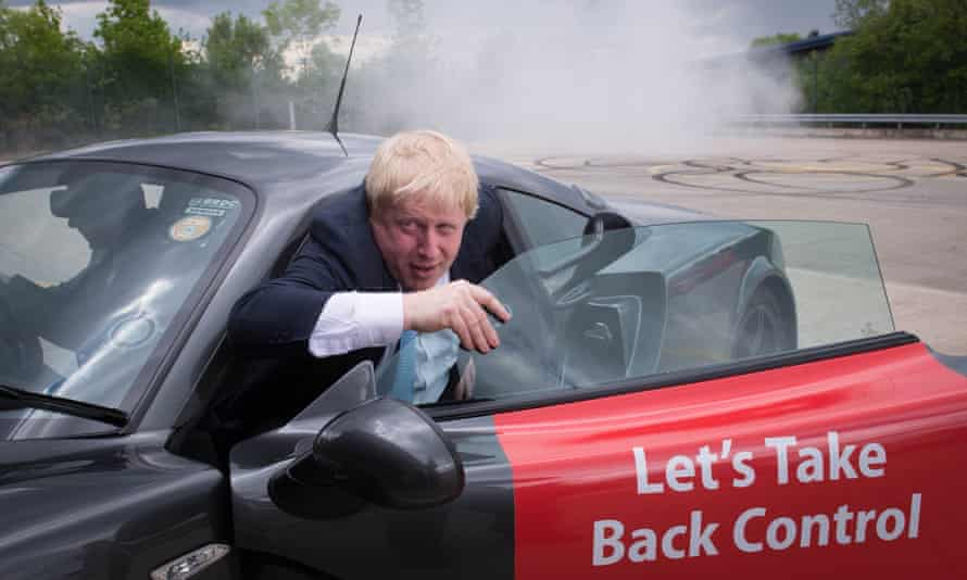 Boris Johnson: 'a Poundstretcher Trump'.