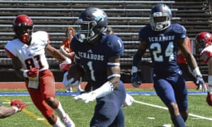 Corey Ballentine was drafted by the Giants in the sixth round