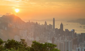 View of Hong Kong from Jardine's Lookout.