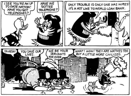 'As amusing as the Duck we were disparaging' … a strip from How to Read Donald Duck by Ariel Dorfman and Armand Mattelart.