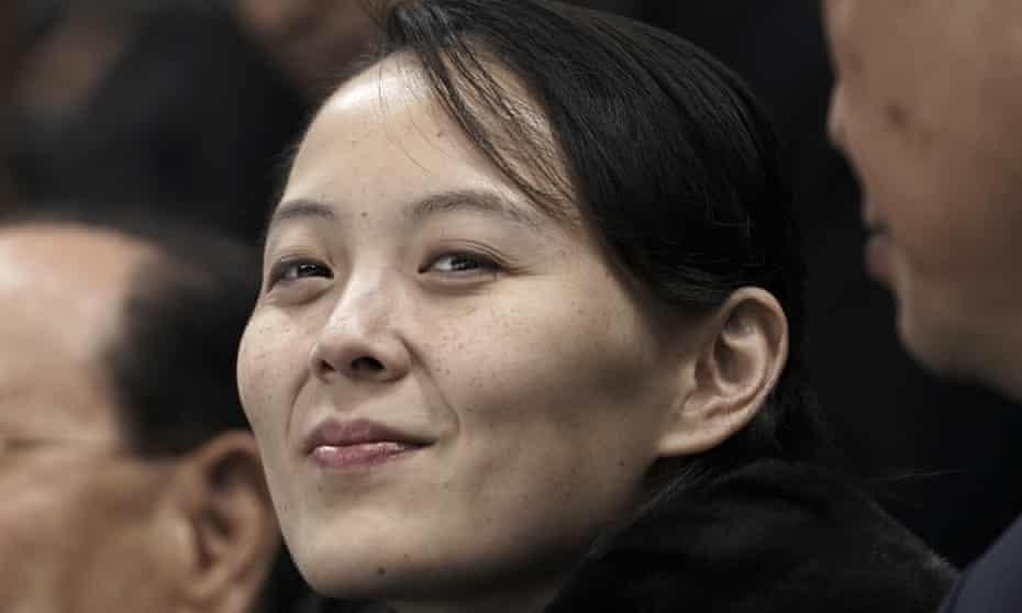 Kim Yo-jong, sister of North Korean leader Kim Jong-un