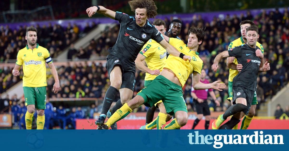 David Luiz makes rusty return as Norwich take Chelsea to FA Cup replayArsenal FC - Brazil National Football Team - Chelsea FC - Danny Drinkwater - David Luiz - Forward - Gary Cahill - Italy - Norwich City FC - Willian
