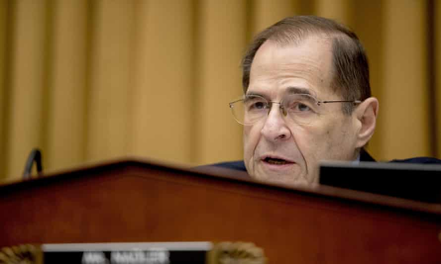 Jerrold Nadler, chairman of the House judiciary committee: 'We will act quickly to gather this information, assess the evidence, and follow the facts where they lead with full transparency with the American people.'