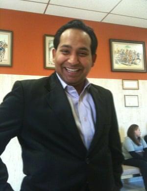 Naved Jafry said his job at Hud was 'a natural fit'.
