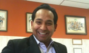 Naved Jafry, who became the registered agent for GJH Global Ministries in January, recently resigned as a senior adviser in the US housing department. Photograph: Handout