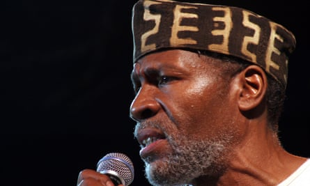 Abiodun Oyewole performing in 2006.