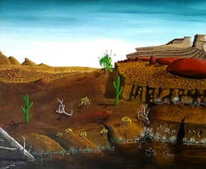 Doig is being sued by Robert Fletcher after denying that he painted a landscape.