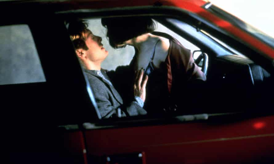 James Spader and Holly Hunter in Crash.