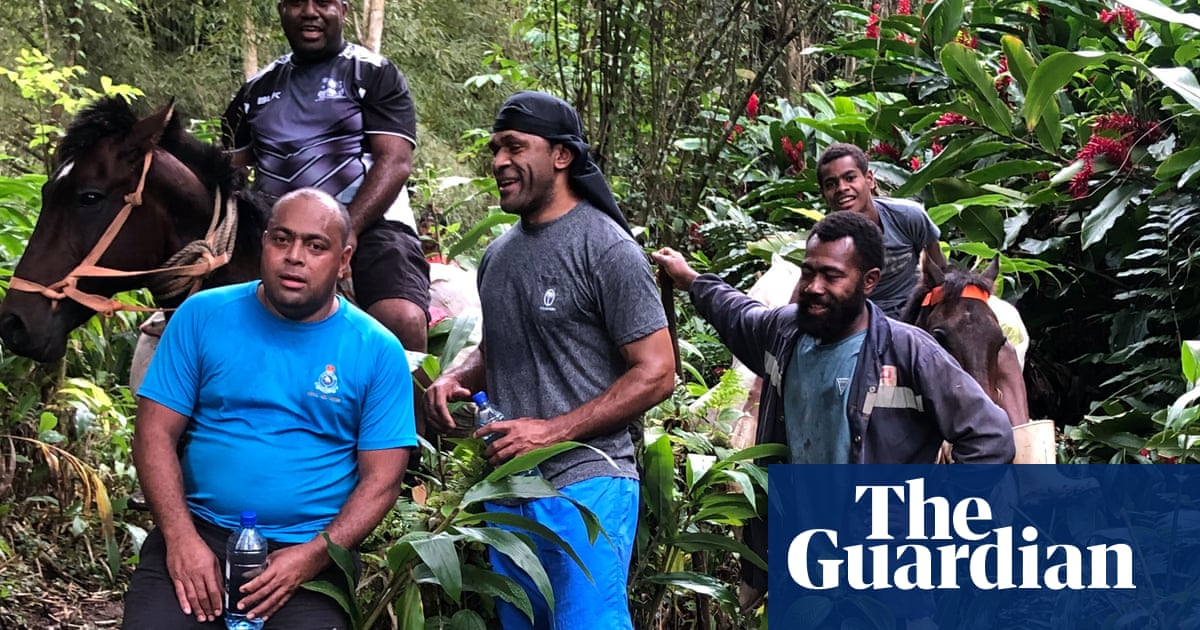Vaccines on horseback: Fiji doctors take long and muddy road to protect remote villages from Covid