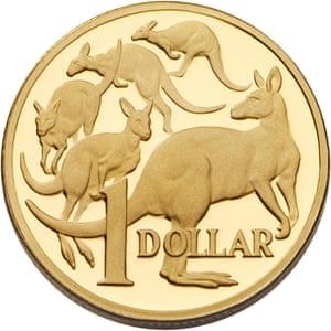 Australian dollar introduced in 1984