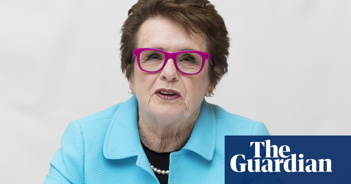 Billie Jean King: I want girls to go after money. It gives empowerment | Tumaini Carayol