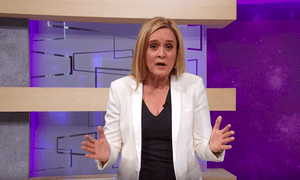 Samantha Bee: 'I should have known that a potty-mouth insult would be more interesting to them than juvenile immigration policy.'