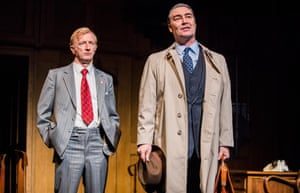 Steffan Rhodri as Walter Harrison and Nathaniel Parker as Jack Weatherill in This House.