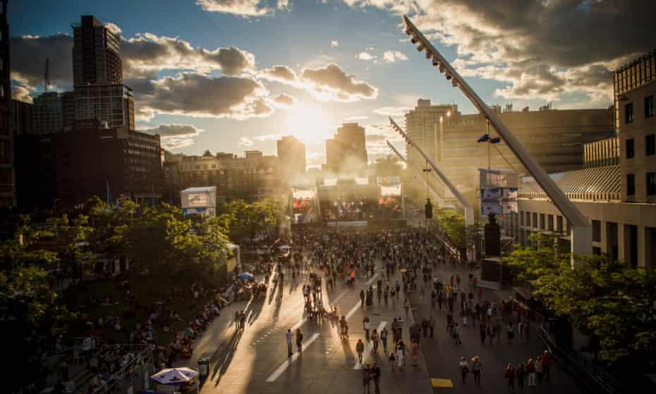Montreal summer festivals