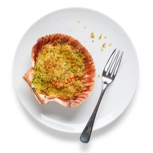 Felicity Cloake's scallop gratin (coquilles St Jacques)